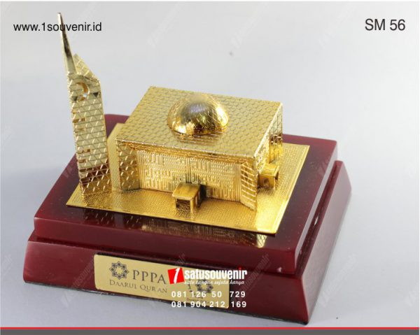 souvenir miniatur masjid