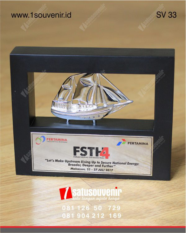 souvenir perusahaan fsth4 pertamina