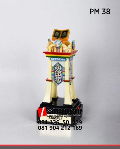 Piala Bergilir MTQ Custom Eksklusif